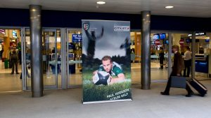 promotional retractable banner